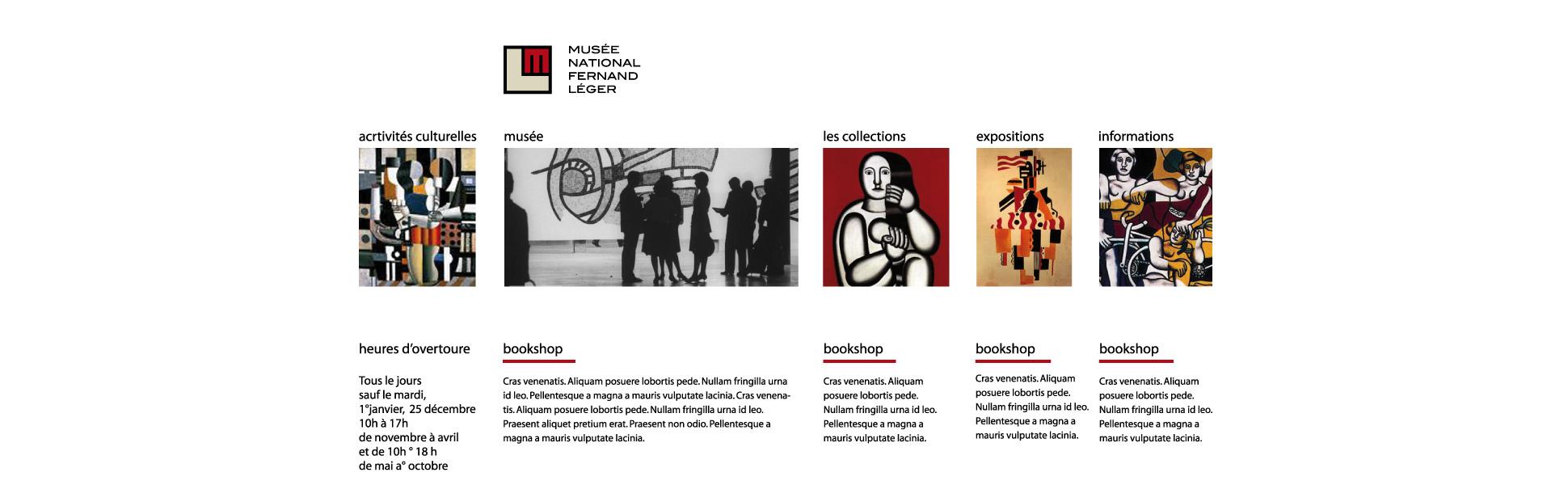 Progettazione di Logo, identità visiva, stampa e web per un Museo