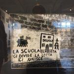 La scuola classista divide, la lotta unisce - Murales 1968
